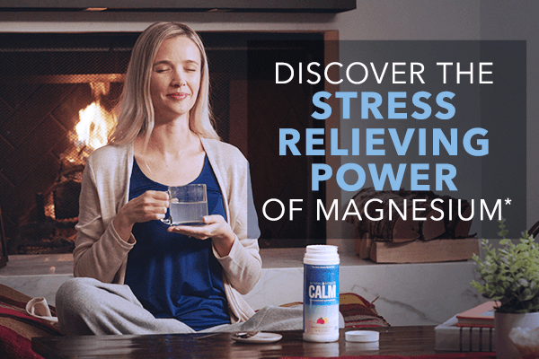 DISCOVER THE STRESS RELIEVING POWER OF MAGNESIUM