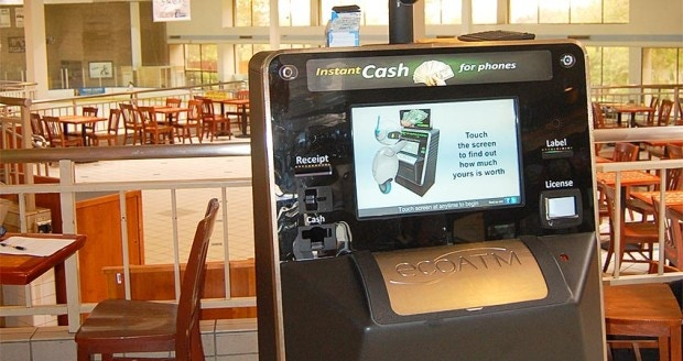 ecoATM: Recycle Your Old Cell Phone for Cash