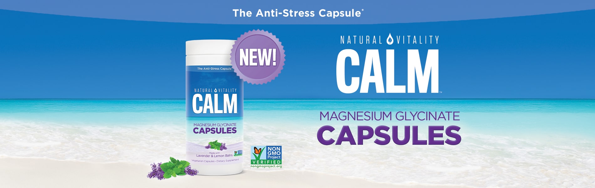 Introducing Natural Vitality Calm Capsules!