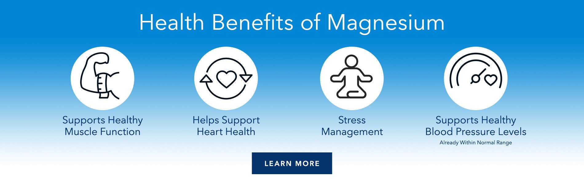 Health Benefits of Magnesium. Learn More.